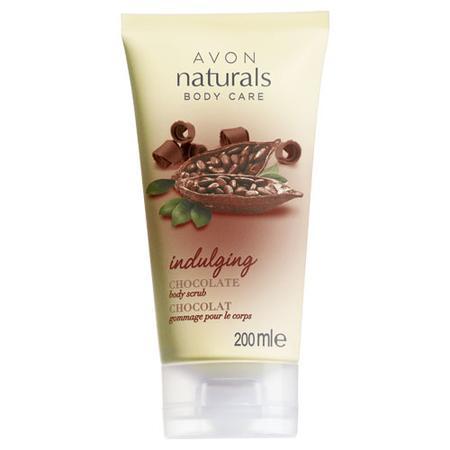 Naturals, Indulging Chocolate Body Scrub, Peeling do ciała - Czekolada marki Avon - zdjęcie nr 1 - Bangla