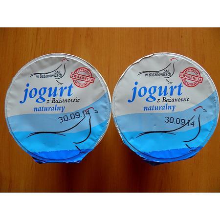 Jogurt z Bażanowic, Naturalny typu greckiego marki SM Bażanowice - zdjęcie nr 1 - Bangla
