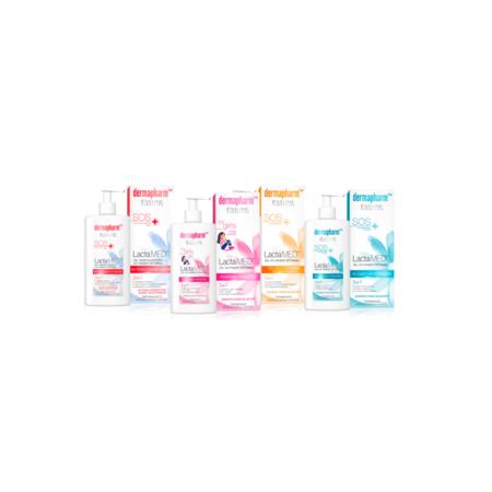 Dermapharm SOS, LactaMED, Płyn do higieny intymnej, Różne rodzaje marki Eveline Cosmetics - zdjęcie nr 1 - Bangla
