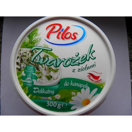 Pilos, Twarożek z ziołami marki Lidl - zdjęcie nr 1 - Bangla