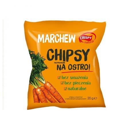 PAULA, Marchew Chipsy przyprawione na ostro marki FPH PAULA Sp. z o. o. Sp. k. - zdjęcie nr 1 - Bangla
