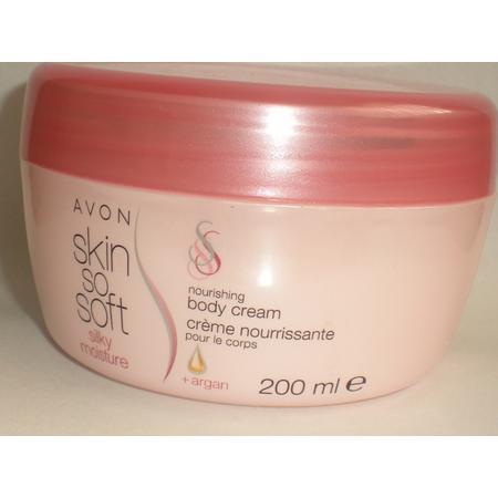 Skin So Soft, Nourishing Body Cream + Argan, Nawilżający krem do ciała z olejkiem arganowym marki Avon - zdjęcie nr 1 - Bangla
