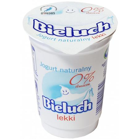 Jogurt Naturalny 0% Lekki marki Bieluch - Spółdzielnia Mleczarska w Chełmie - zdjęcie nr 1 - Bangla