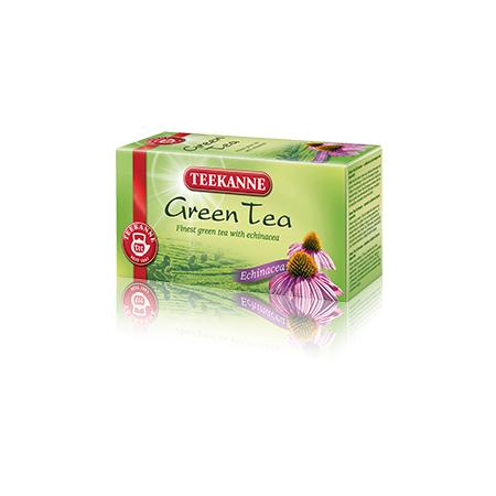 Green Tea Echinacea, herbata zielona z jeżówką marki Teekanne - zdjęcie nr 1 - Bangla