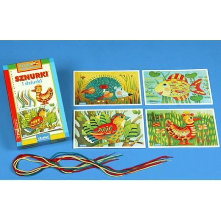 Granna - Sznurki i dziurki - wyszywanki bez użycia igły marki Granna - zdjęcie nr 1 - Bangla