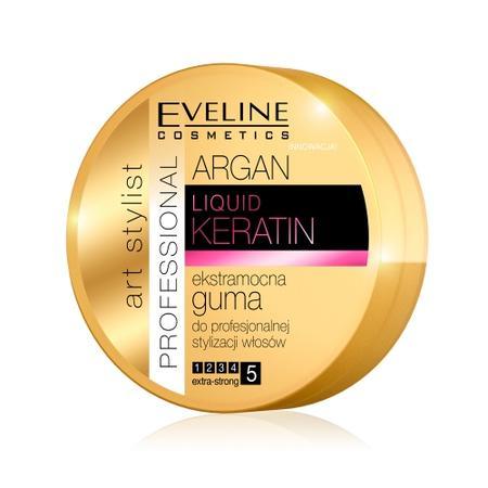 Art Stylist Argan, Liquid Keratin, Ekstramocna guma do profesjonalnej stylizacji włosów marki Eveline Cosmetics - zdjęcie nr 1 - Bangla