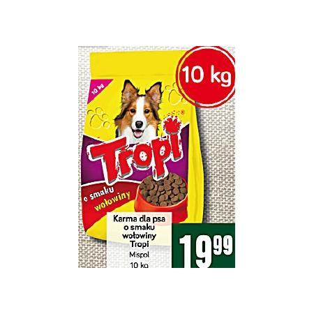 Sucha karma dla psa, różne smaki marki Tropi - zdjęcie nr 1 - Bangla