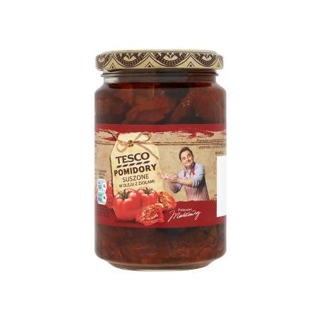 Pomidory suszone w oleju z ziołami marki Tesco - zdjęcie nr 1 - Bangla