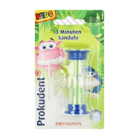 Prokudent, Klepsydra 3 min. odmierzająca czas mycia zębów marki Rossmann - zdjęcie nr 1 - Bangla