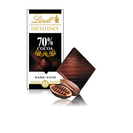 Excellence, Czekolada gorzka 70% kakao marki Lindt - zdjęcie nr 1 - Bangla