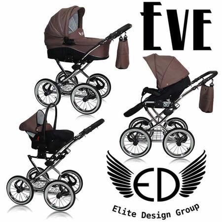 EVE Wózek głęboko spacerowy z możliwością montażu fotelika samochodowego marki Elite Design Group - zdjęcie nr 1 - Bangla