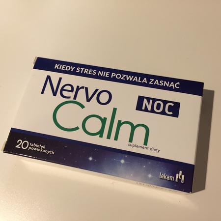 Nervocalm Noc, Tabletki powlekane marki Lekam - zdjęcie nr 1 - Bangla