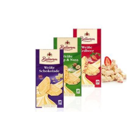 Bellarom, Biała czekolada, różne rodzaje marki Lidl - zdjęcie nr 1 - Bangla