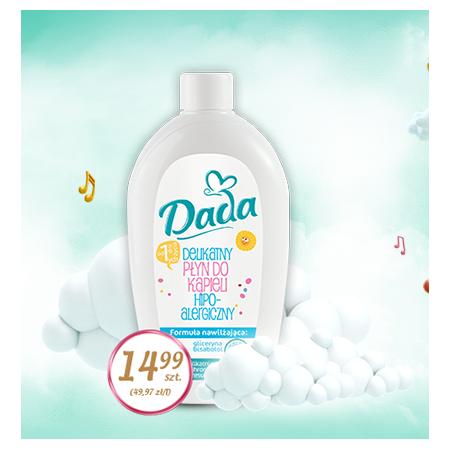 Dada, Delikatny płyn do kąpieli, hipoalergiczny marki Biedronka - zdjęcie nr 1 - Bangla