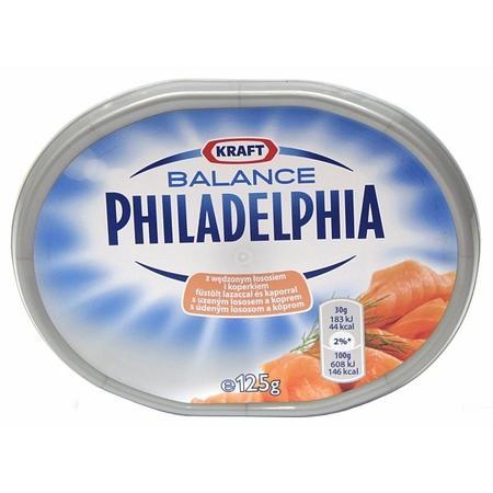 Philadelphia Balance, serek kremowy z wędzonym łososiem i koperkiem marki Mondelez/Kraft Foods Group - zdjęcie nr 1 - Bangla