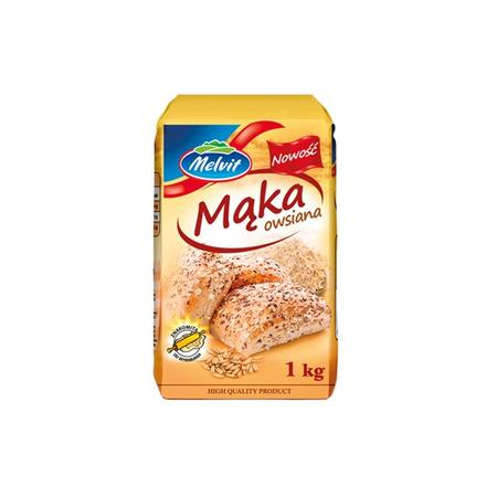 Mąka owsiana marki Melvit - zdjęcie nr 1 - Bangla