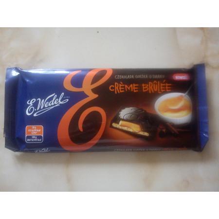 Czekolada gorzka o smaku Creme Brulee marki Wedel - zdjęcie nr 1 - Bangla