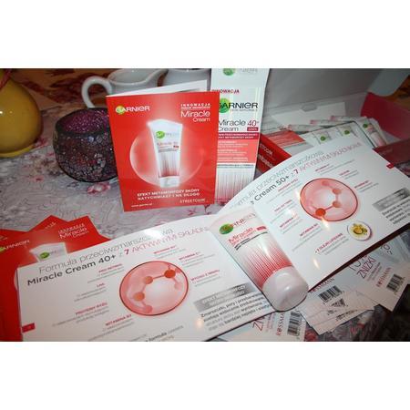 Miracle Cream 40+, krem przeciwzmarszczkowy marki Garnier - zdjęcie nr 1 - Bangla