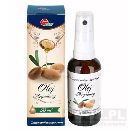 Organiczny bezzapachowy Olej arganowy 50ml marki Kej - zdjęcie nr 1 - Bangla