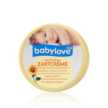 Reichhaltige Zartcreme für Gesicht & Körper, Odżywczy krem do twarzy i ciała marki Babylove - zdjęcie nr 1 - Bangla