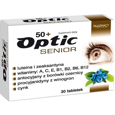 Optic Senior tabletki marki Pharmacy Laboratories - zdjęcie nr 1 - Bangla