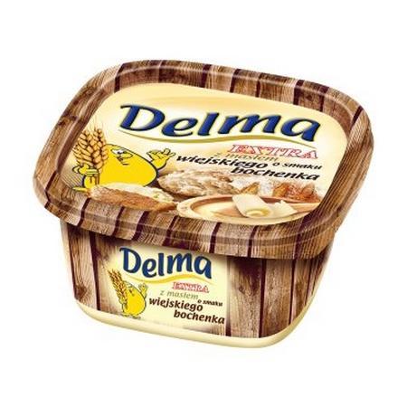 Delma Extra z masłem o smaku wiejskiego bochenka marki Unilever - zdjęcie nr 1 - Bangla