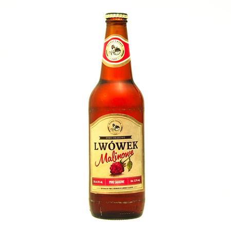 Piwo smakowe, malinowe marki Browar Lwówek - zdjęcie nr 1 - Bangla