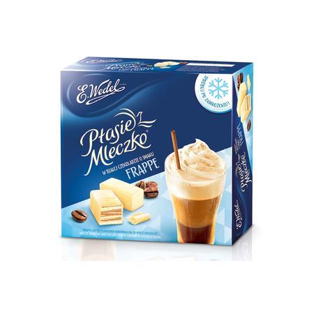 Ptasie Mleczko w białej czekoladzie o smaku Frappe marki Wedel - zdjęcie nr 1 - Bangla
