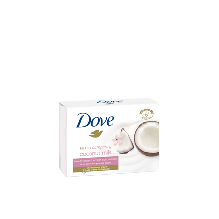 Purely pampering, kremowa kostka myjąca, coconut milk marki Dove - zdjęcie nr 1 - Bangla