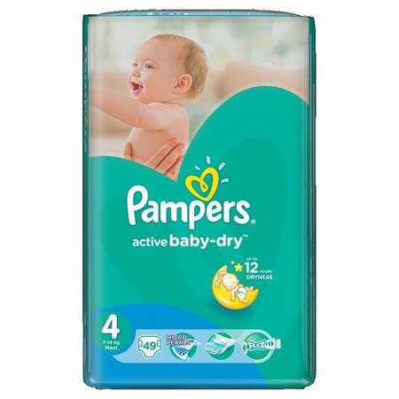 Pampers Active Baby-Dry, Maxi marki Pampers - zdjęcie nr 1 - Bangla