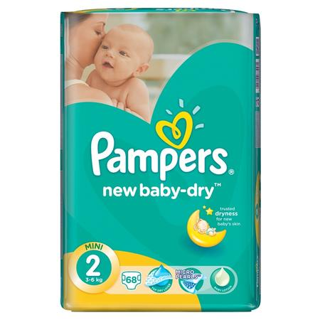 Pampers New Baby-Dry, Mini marki Pampers - zdjęcie nr 1 - Bangla
