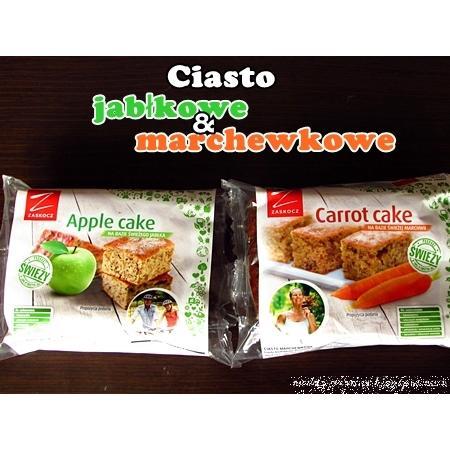 Ciasto marchewkowe i jabłkowo-miętowe marki Zaskocz - zdjęcie nr 1 - Bangla