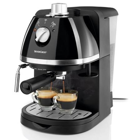 SEM1100 A2, ekspres ciśnieniowy do kawy marki SilverCrest - zdjęcie nr 1 - Bangla