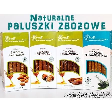 bezE, inspirowane naturą, naturalne paluszki zbożowe marki Stema Polska - zdjęcie nr 1 - Bangla