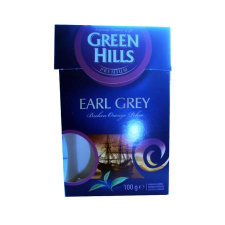 Green hills, Earl Grey, herbata liściasta marki Biedronka - zdjęcie nr 1 - Bangla