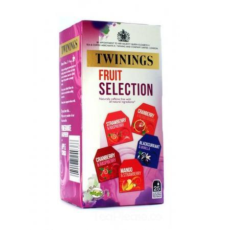 Fruit Seletion, herbata ekspresowa w torebkach, różne smaki marki Twinings - zdjęcie nr 1 - Bangla