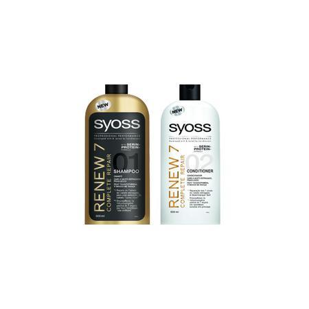 Renew 7, Szampon do włosów zniszczonych marki Syoss - zdjęcie nr 1 - Bangla