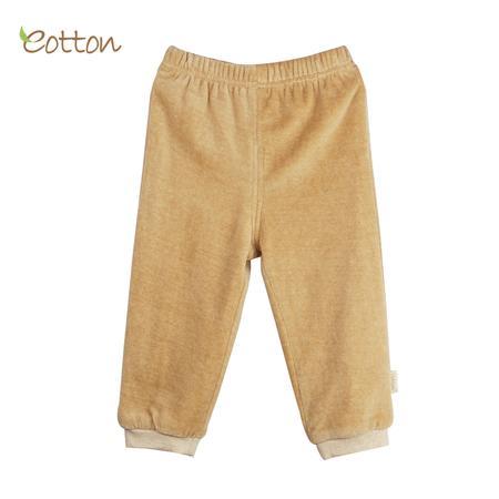 Organic, Spodnie dresowe welurowe Jungle marki Eotton - zdjęcie nr 1 - Bangla