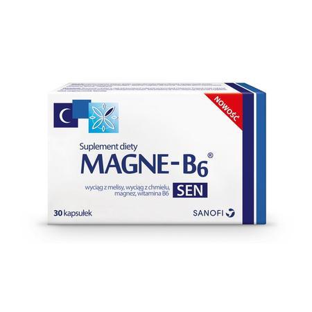 Magne-B6 Sen, suplement diety, kapsułki marki Sanofi Aventis - zdjęcie nr 1 - Bangla