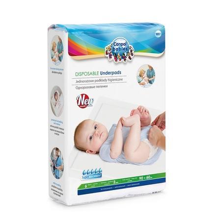 Canpol Babies, Jednorazowe podkłady higieniczne marki Canpol babies - zdjęcie nr 1 - Bangla