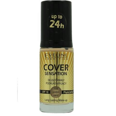 Cover Sensation, długotrwały podkład kryjący marki Eveline Cosmetics - zdjęcie nr 1 - Bangla