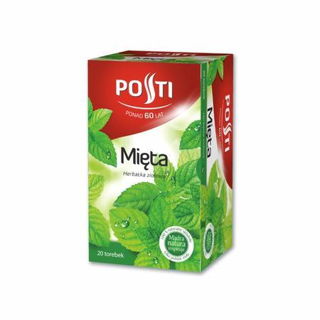 Mięta, herbatka ziołowa ekspresowa marki Posti - zdjęcie nr 1 - Bangla