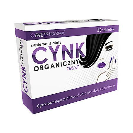 Cynk organiczny, tabletki marki Avet Pharma - zdjęcie nr 1 - Bangla