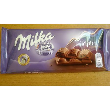 Triple Choco cocoa, czekolada marki Milka - zdjęcie nr 1 - Bangla