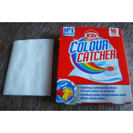 Colour Catcher K2r, chusteczki zapobiegające zafarbowaniu ubrań marki Henkel - zdjęcie nr 1 - Bangla