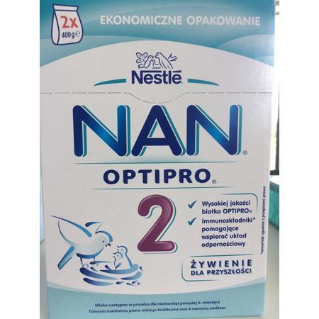 NAN Optipro 2, mleko następne marki Mleka modyfikowane NAN OPTIPRO 2 - zdjęcie nr 1 - Bangla