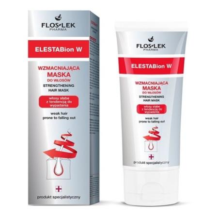 ELESTABion W, Wzmacniająca maska do włosów marki FlosLek - zdjęcie nr 1 - Bangla