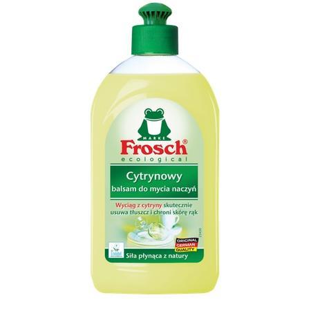 Cytrynowy, balsam do mycia naczyń marki Frosch - zdjęcie nr 1 - Bangla