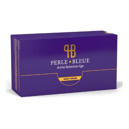 Perle Bleue Active Retention Age Night Cream, Krem przeciwzmarszczkiwy na noc marki Perle Bleue Products LLC - zdjęcie nr 1 - Bangla