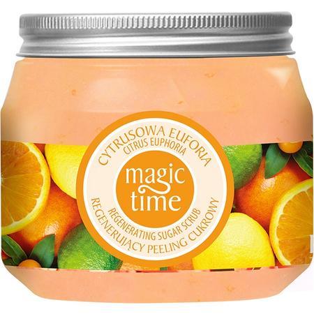 Magic Time, Regenerujący peeling cukrowy Cytrusowa Euforia marki Farmona - zdjęcie nr 1 - Bangla